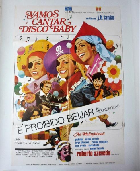 Grande Poster do filme de J.B. Tanko - As Melindrosas -