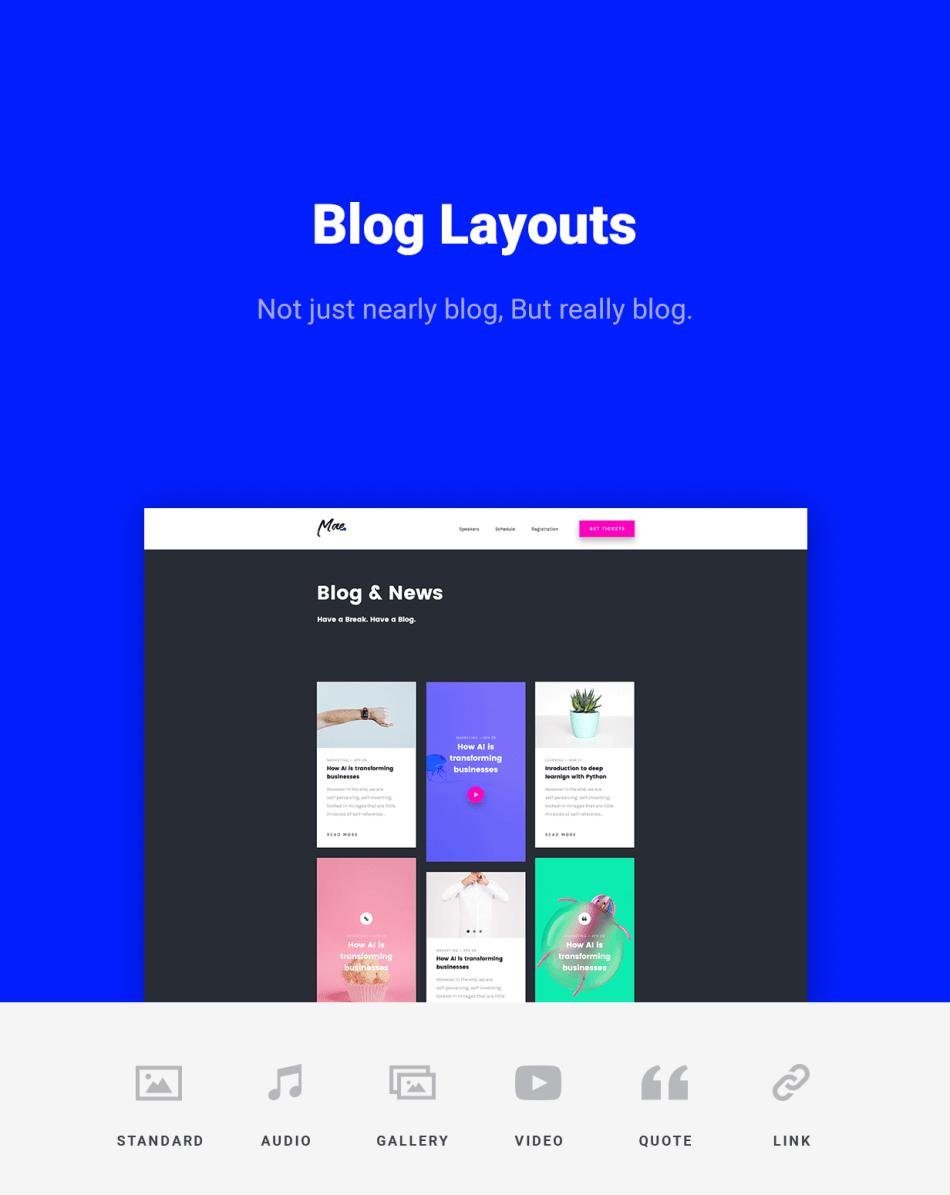 Mae Blog