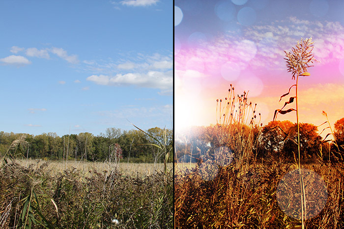 Creating A Sunset Effect In Photoshop