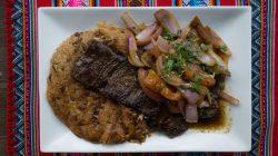 Tacu-Tacu con Bistec
