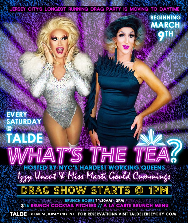 Image result for whats the tea drag brunch
