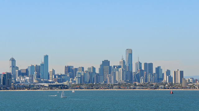 Melbourne, Australia. Photo: Peter Mackey.