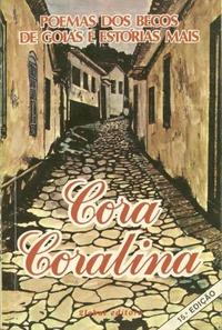 Resultado de imagem para Poemas dos Becos de Goiás e Estórias Mais