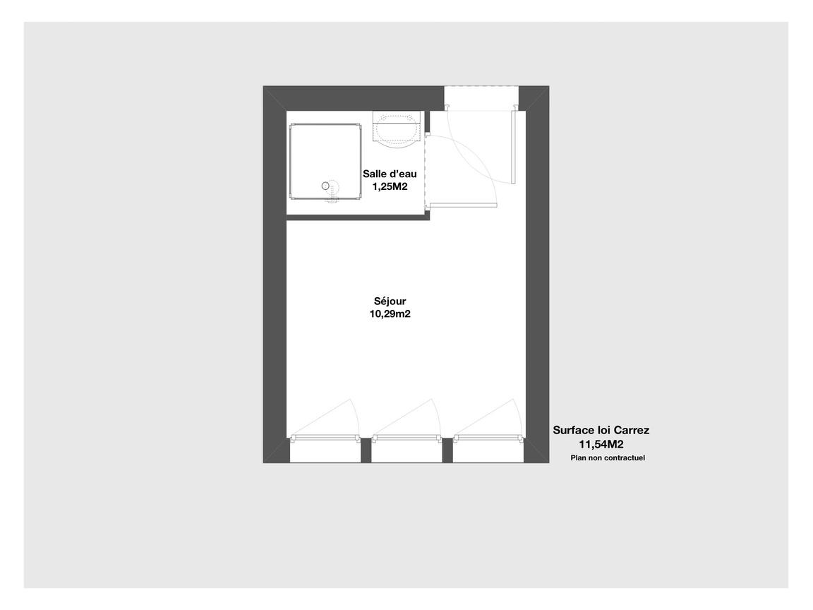 Achat Appartement 12 M2 Paris 75017 1 Piece