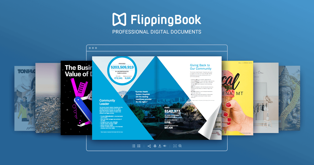 Online Catalog Maker Create Catalog With Flippingbook