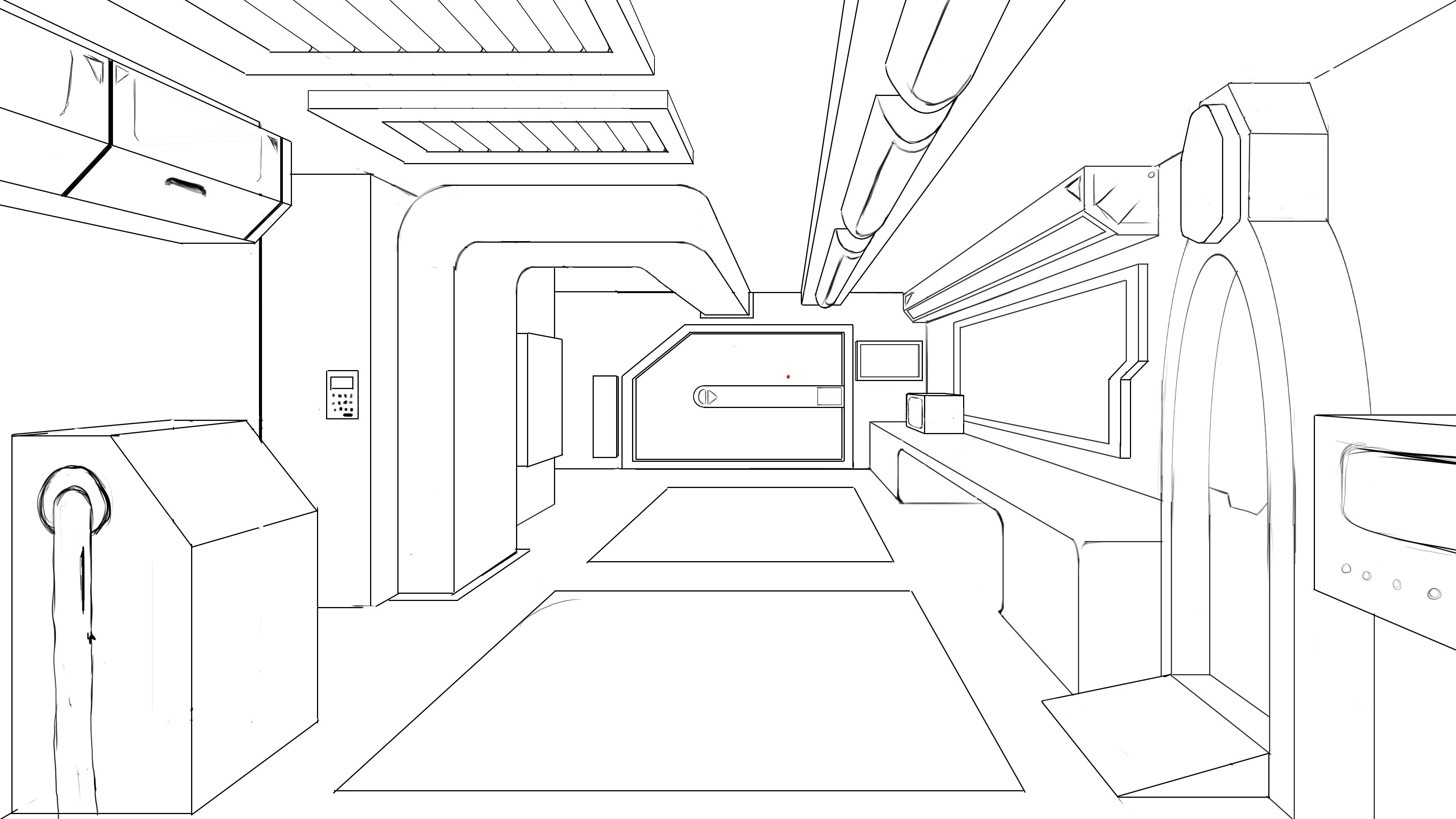 One Point Perspective Room Worksheet