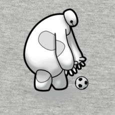 Play football Shirt  Design by RosettaP Baymax o--o