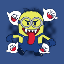 Possessed Minion Shirts. a mashup of minions and super mario bros. 3 boo