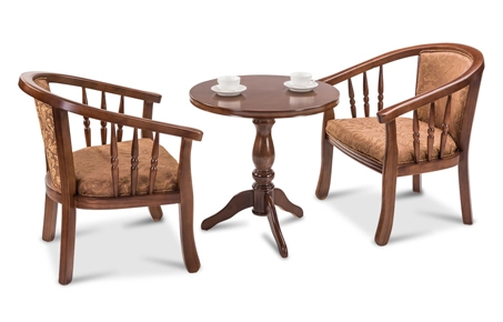 wooden glass coffee table set at durian