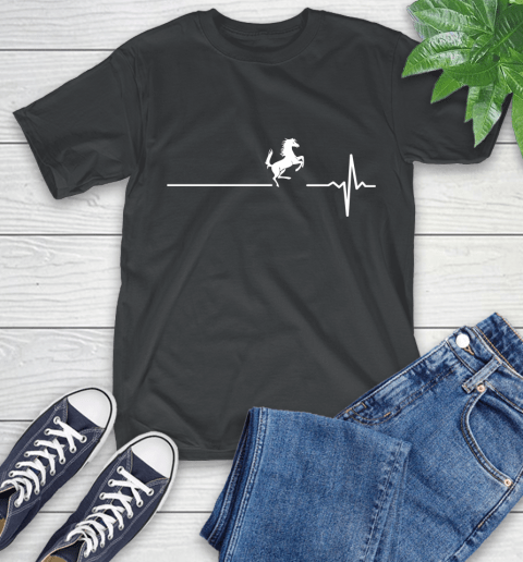 Horse Riding This Is How My Heart Beats T-Shirt