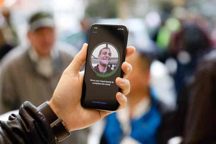 Biometric facial recognition hardware present in 90% of smartphones by 2024