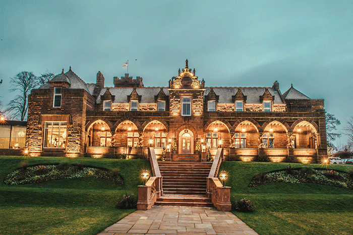 exclusive-use wedding venues in Scotland