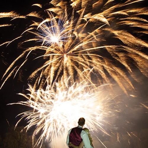 fireworks wedding entertainment