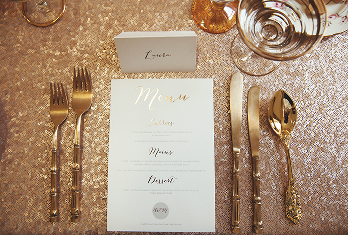 SixpennyBlue luxury wedding stationery