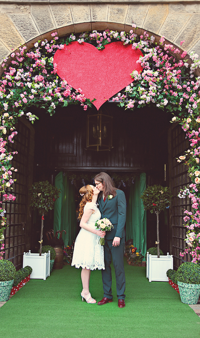 Intimate Quirky Wedding Edinburgh Prestonfield House