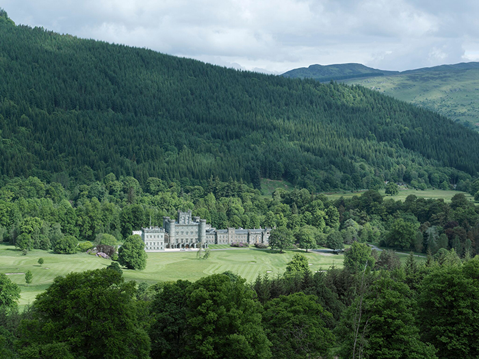 Taymouth Castle Open Day