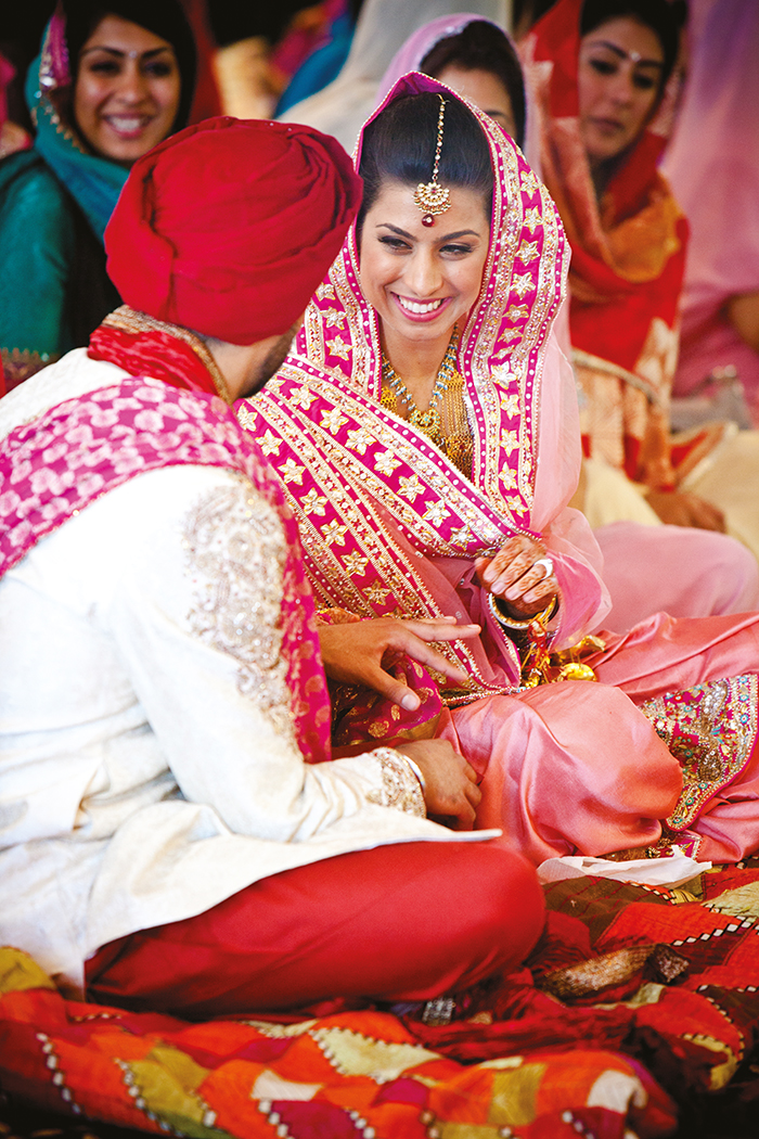 Archibald Photography wedding photo glasgow gurdwara