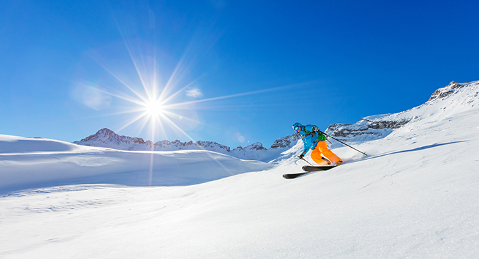 winter honeymoon french alps