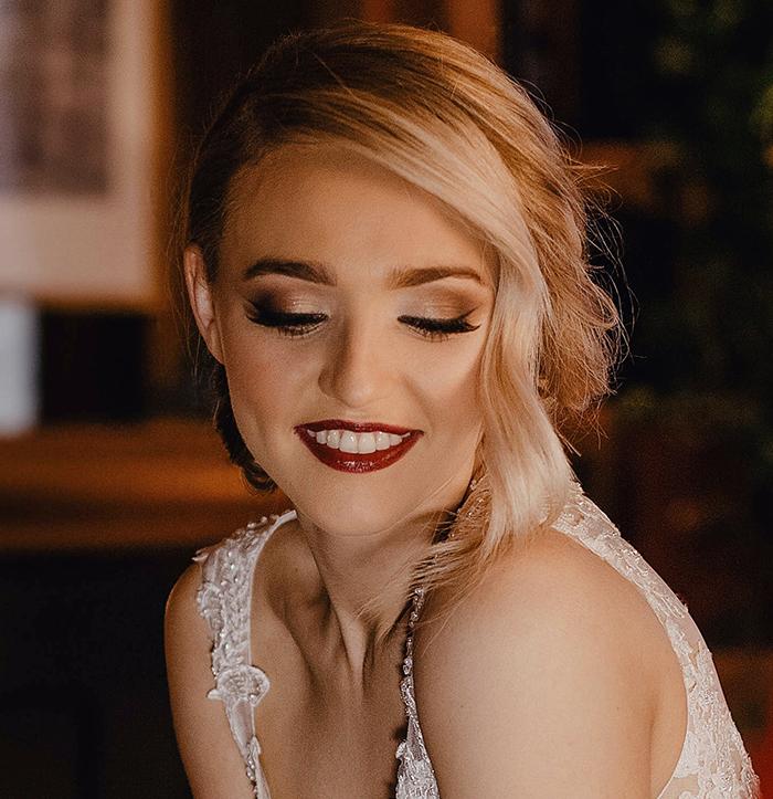 Photogenic wedding make-up Leigh Blaney