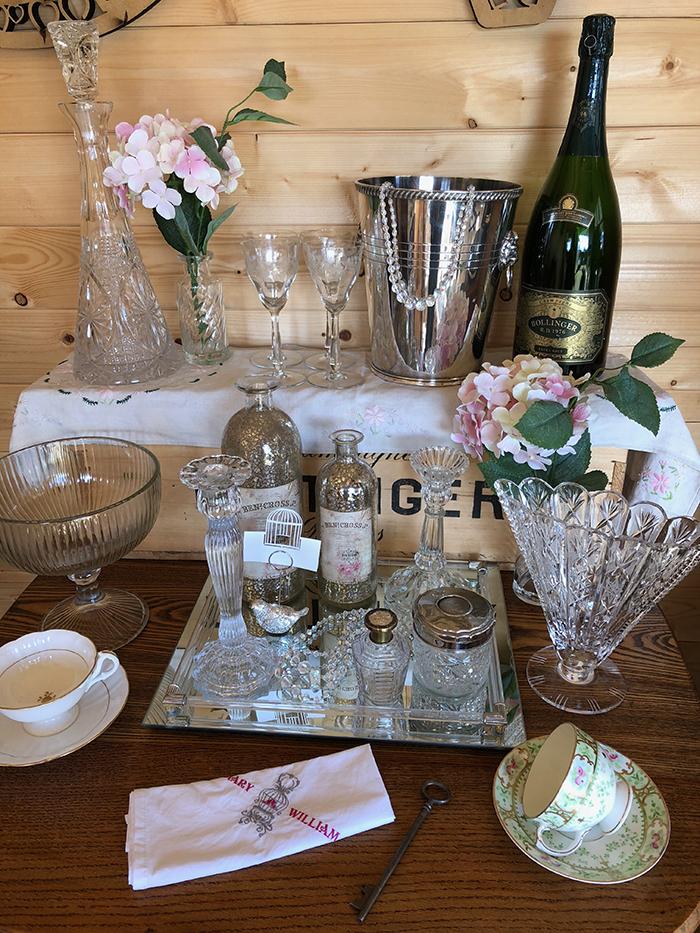 The Vintage Prop Company wedding decor