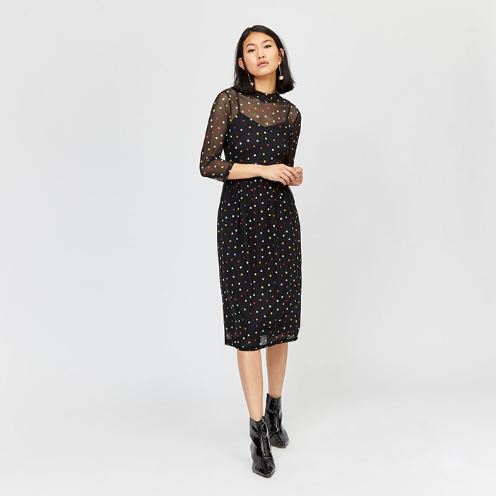 What to wear to a winter wedding Warehouse dress