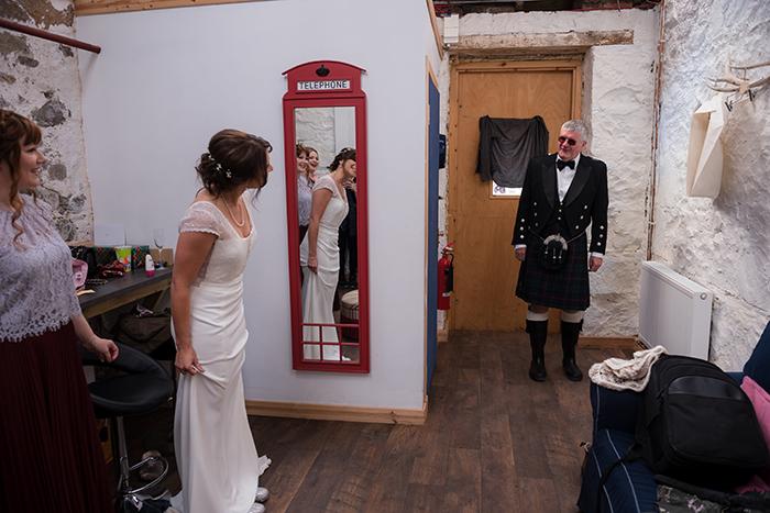 rustic wedding Comrie Croft