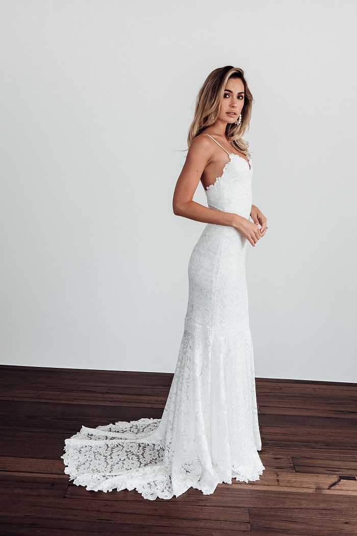 56b6235ec2c Grace Loves Lace releases the  perfect  wedding dress