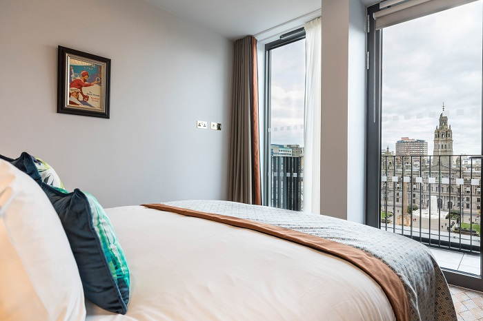 Native Glasgow apartments - wedding guest accommodation in Glasgow