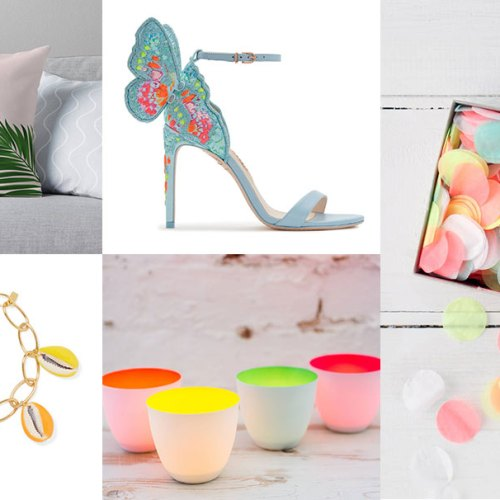 Neon elements to wedding