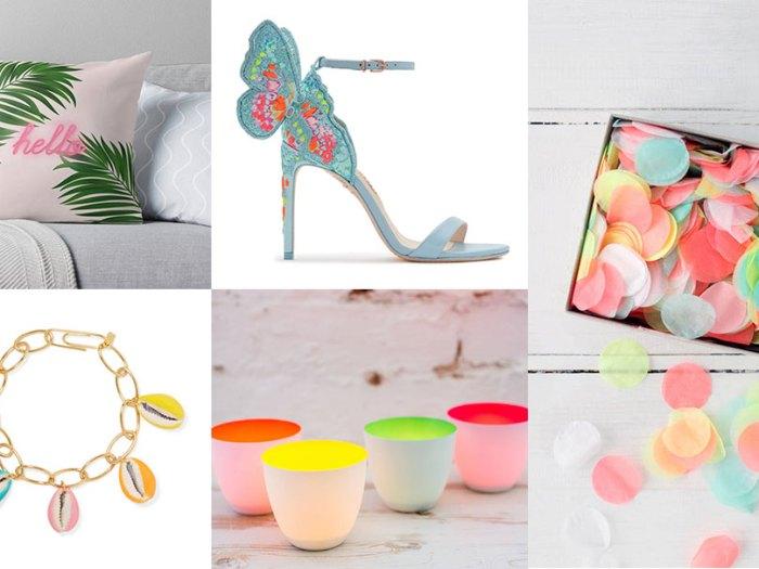 Neon elements to wedding