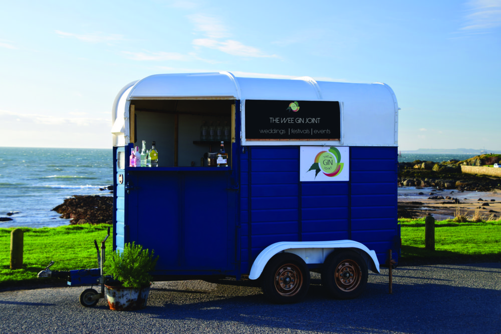 The Wee Gin Joint mobile bar Scotland