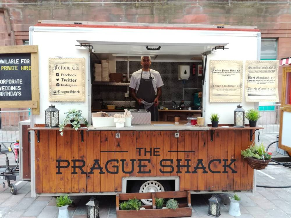 czech street food mobile van scotland