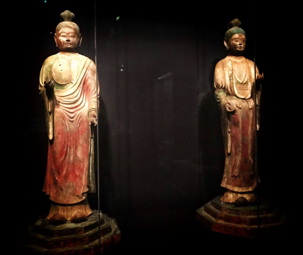 Indra and Brahma, 8th century Japan, Asian Art Museum, San Francisco