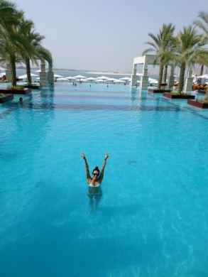 The Hotel Jumeirah Zabeel Saray, swimming pool
