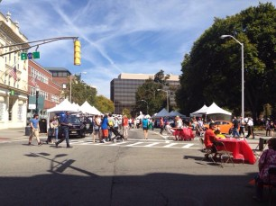 Morristown Green, Morristown, food festival