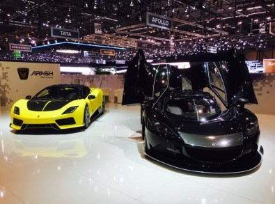 86th Geneva International Motor Show, Arash AF8 Falcon and AF10