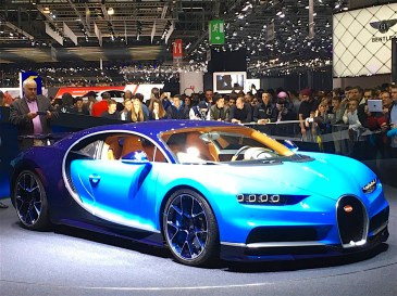 86th Geneva International Motor Show, Bugatti Chiron