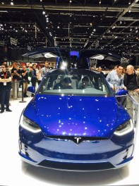86th Geneva International Motor Show, Tesla Model X