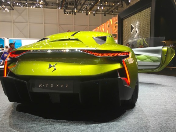 86th Geneva International Motor Show, DS E-tense