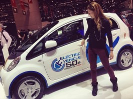 86th Geneva International Motor Show, Mitsubishi electric car