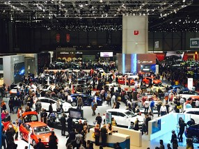 86th Geneva International Motor Show, the Hall #6, #5, #4, #3