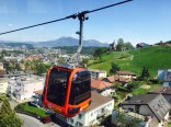 panorama gondola from Kriens to Fräkmüntegg