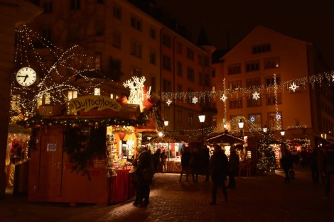 The Niederdorf Christmas Market