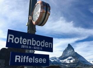 Rotenboden & Riffelsee