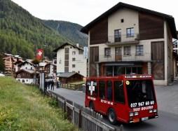 Zermatt, e-taxi