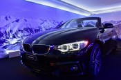 BMW was one of the sponsors during the Night Turf 2017, St. Moritz