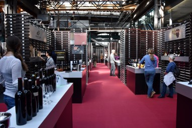 Expovina Primavera, wine festival in Zurich that takes place at PULS 5