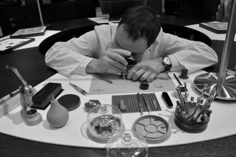 Watchmaking craftsman