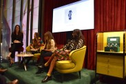 Gucci Press Conference, bloggers talked about their collaboration with Gucci, internet art and memes