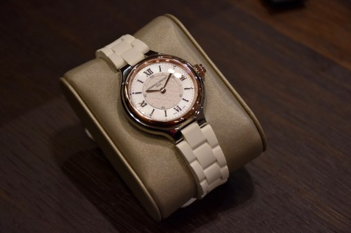 Baselworld 2017, Frederique Constant presented the new Ladies' versions of the Horological Smartwatch